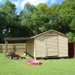 Storage shed that remains with 211 Talon Rd Home for sale