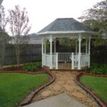 Back yard and Gazebo at 913 Canberra Rd Lafayette LA 70503